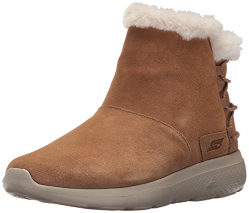 Skechers Women's On-The-go City 2 - Hibernate Winter Boot, Chestnut