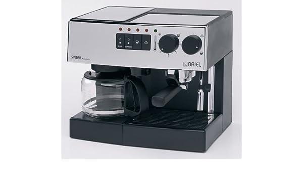Briel Espresso + Cafetera Eléctrica Sintra AEF – Chrome panel ...