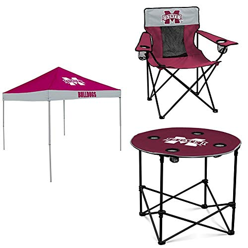 Mississippi State Tent, Table and Chair Package