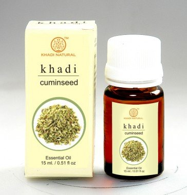 Khadi Herbal Cuminseed Essential Oil, 15ml