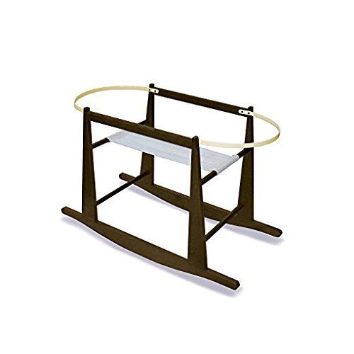 Jolly Jumper Rocking Moses Basket Stand, Expresso by Jolly Jumper