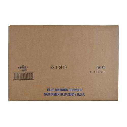 Blue Diamond Roasted Salted Almonds, 1.5 Ounce -- 144 per case.