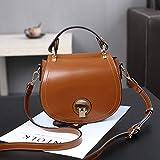Bingo Point Feshion Single Shoulder Bags Enclosed Retro Saddle Bag Mini Bag Handbag Pig Female PU Messenger Bag