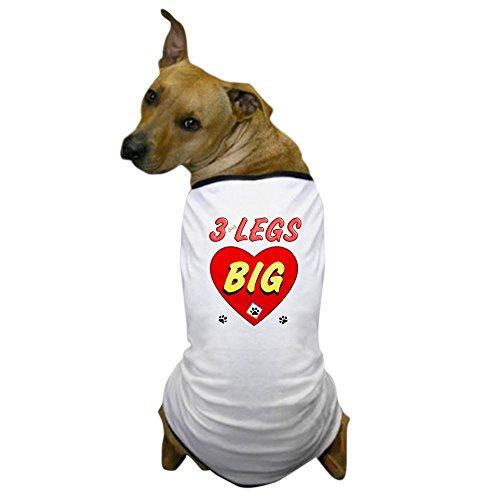 CafePress - 3 Legged Dog, Dog T-Shirt - Dog T-Shirt, Pet Clothing, Funny Dog (3 Legged Dog Costumes)