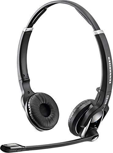 Sennheiser SD PRO2 - Deskphone Cordless Headset with Yealink EHS Adapter | Compatible Yealink Models: T48G, T46G, T42G, T41P, T38G, T28P, T26P | Bonus Cushions by Sennheiser (Image #2)
