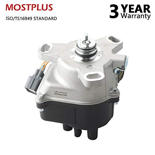 (MOSTPLUS New Ignition Distributor For Honda Acura B16A B16A2 B18C DOHC VTEC 96-01 TD81U)