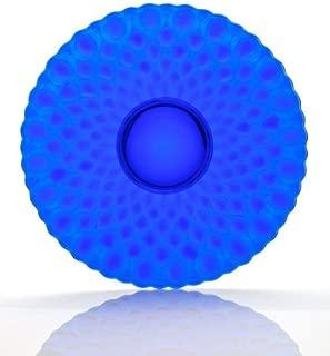 product image for Mosser Glass Elizabeth Fruit Plate in Cobalt