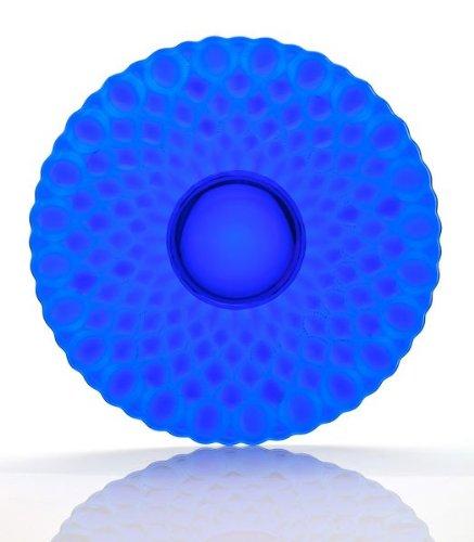Mosser Glass Elizabeth Fruit Plate in Cobalt ()