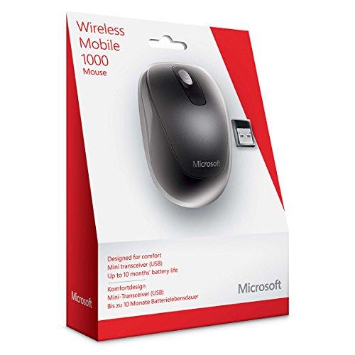 0cb828637d8 Microsoft 2CF-00003 1000 Wireless Mobile Mouse: Amazon.ca: Electronics