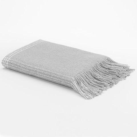 Sonoma Life+Style Faux Mohair Throw (Gray)