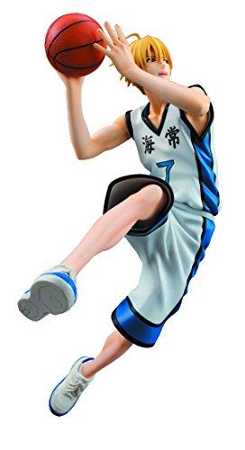 Free Megahouse Kuroko's Basketball: Ryoya Kise White Uniform PVC Figure
