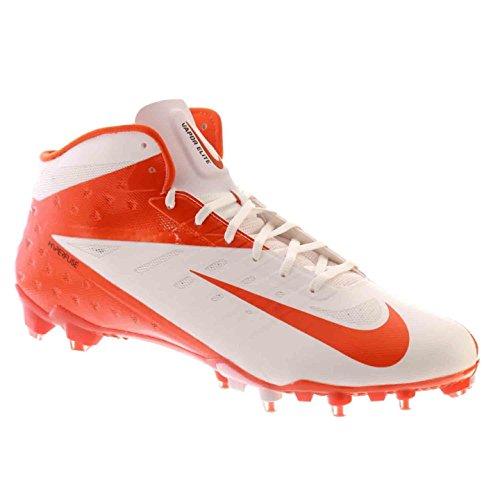Nike Vapor Talon Elite 3/4 Herenvoetbalschoenen Wit Oranje Flits 15 M
