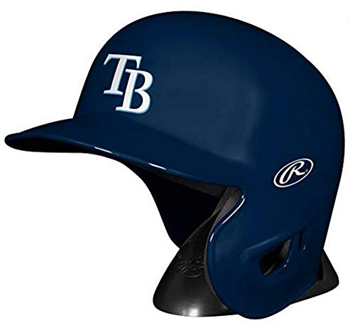 Jarden Sports Licensing MLB Tampa Bay Rays Mini Replica Helmet, Blue ()