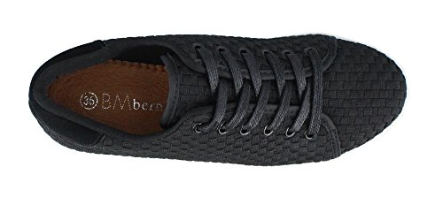 Women's Daphne Mev Lace up Bernie Black Shoes BnUxqn6w