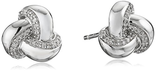 sterling-silver-diamond-knot-earrings-1-10-cttw