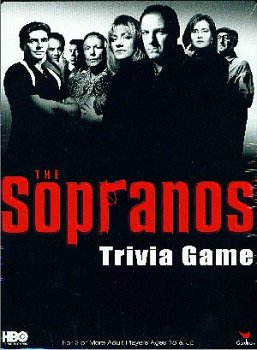 Cardinal Industries Sopranos Trivia in a Box Board Game