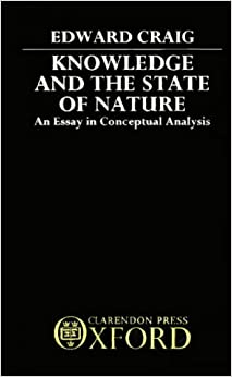 Book Knowledge and the State of Nature: An Essay in Conceptual Synthesis
