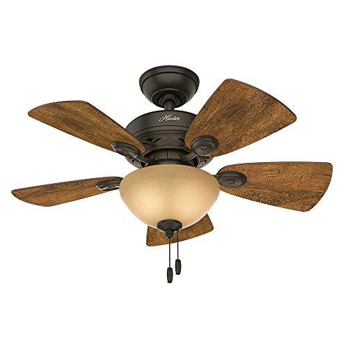 34 Watson Ceiling Fan with Light New Bronze