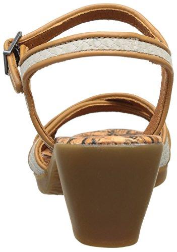 ART IPANEMA - Sandalias de vestir de cuero para mujer blanco - Weiß (BONE-CARAMEL)