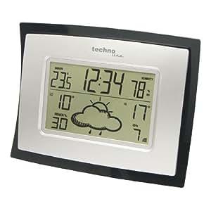 Technoline WD 1120 estación metereológica - Estación meteorológica (AA, Negro, Color blanco, 218 x 35 x 172 mm)