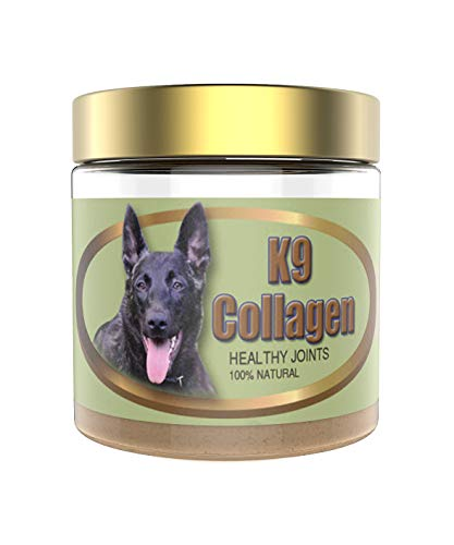 K9 Collagen Hip & Joint Supplement for Dogs - Collagen Booster for Healthy Joints, Improved Mobility, Better Overall Health of Dogs - 1 Month Supply