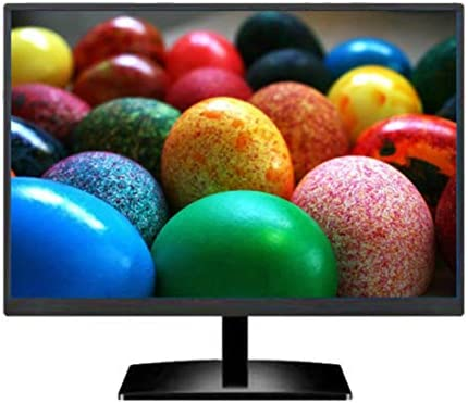 Rouku Monitor de computadora LCD Led HD Ultrafino 19 Pulgadas Curved Led Monitor Gaming Game Competición Pantalla de computadora: Amazon.es: Hogar