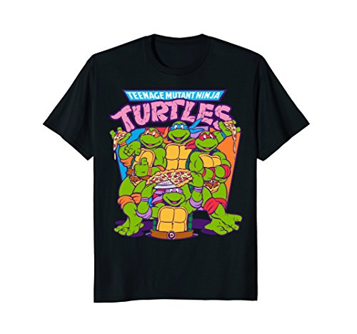 Teenage Mutant Ninja Turtles Pizza & Smiles T-Shirt for Adult or Child