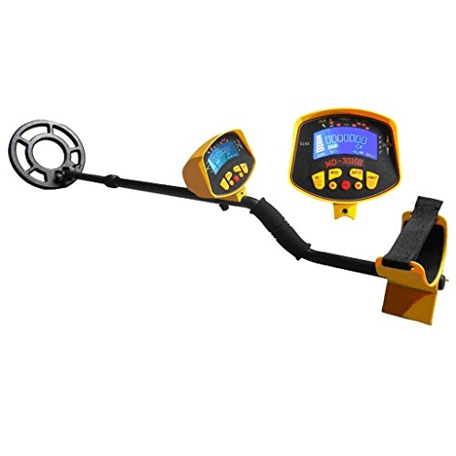 MagiDeal MD3010II Metal Detector Treasure Search Digger LCD Waterpoof Coil Gold Outdoor by MagiDeal