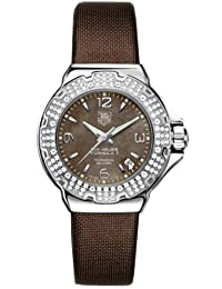TAG Heuer Women's WAC1217.FC6221 Formula 1 Glamour Diamond Accented Watch