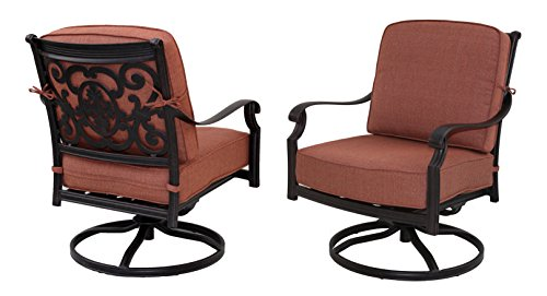 Swivel Rocker Club Chair - 2