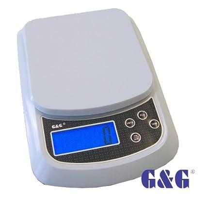 G & G G & G sf420 10 kg/1g Báscula Digital de ...