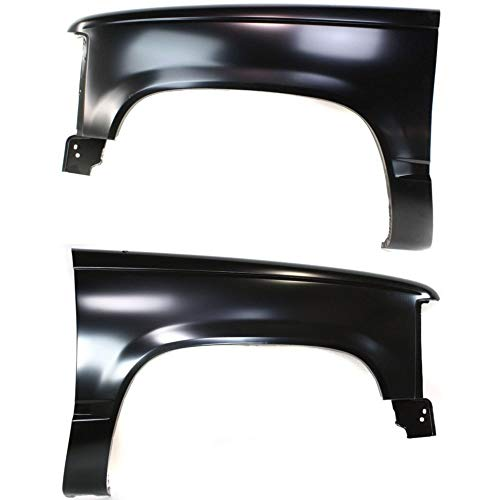 Fender compatible with Chevy C/K Full Size Pickup 88-02 RH and LH Front Left and Right Side ()