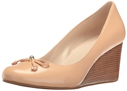 Elsie Leather LCE Cole 65mmii Wedge Women's Haan WDG Pump Nude FggnqzEU