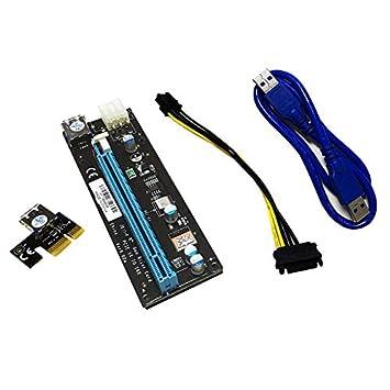 Goldyqin Tarjeta PCI Express 1X a 16X Tarjeta Vertical PCIE ...