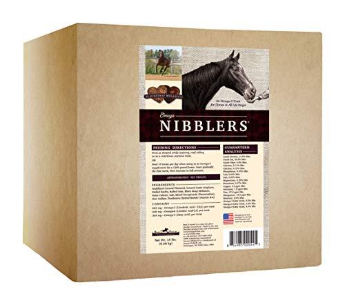Omega Nibblers Blackstrap Molasses 3 Horse Treat
