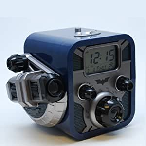 Digital Blue Batman Alarm Clock Radio
