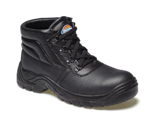 Dickies , Chaussures de sécurité pour homme Noir noir 12 UK