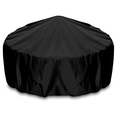 Two Dogs Designs Cover (Smart Living Fire Pit Cover, 80-Inch, Black by Two Dogs Designs)
