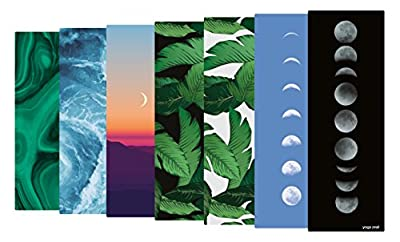 Yoga Zeal Yoga Mats Luxuriously Soft, Printed, Non-Slip, Eco Friendly Hot Yoga Mat. Designed to Grip Better with a Sweaty Yoga Practice!