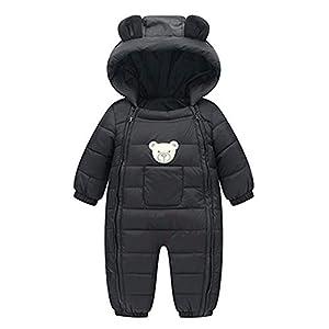 Manteau Bébé, YUYOUG Nouveau-né garçons garçons Filles Barboteuses Hiver Coton épais vêtements Chauds Combinaison 2