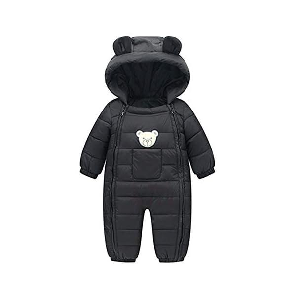 Manteau Bébé, YUYOUG Nouveau-né garçons garçons Filles Barboteuses Hiver Coton épais vêtements Chauds Combinaison 1