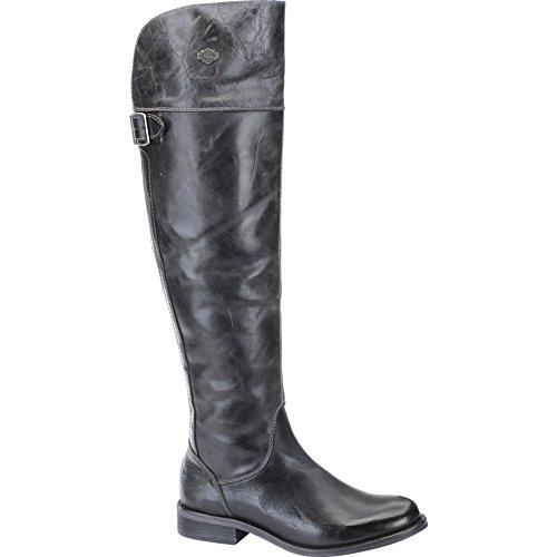 Harley Monique davidson Overknee boot Black 8vTH8q