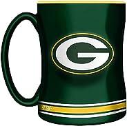 NFL Green Bay Packers Sculpted Mug, 14-Ounce