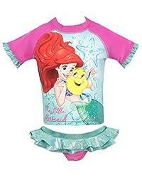 Disney Girls' The Little Mermaid Two Piece Swim Set