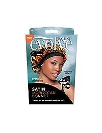 Evolve Exotics - Gorro de satén, diseño marroquí, varios estampados