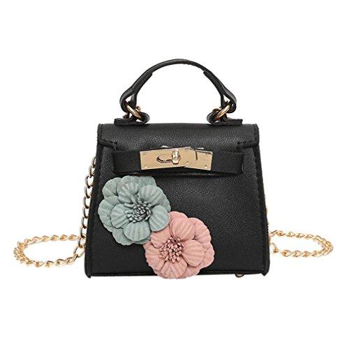 Handbag Women Shoulder Tote Shoulder Flower Messenger black Printing Womens SHOBDW 4 Bag Butterfly Bags H40dTxTwqt