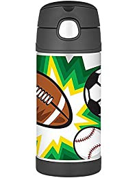 Thermos FUNtainer Bottle with Straw, All Stars Edition,...