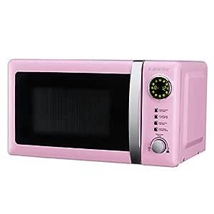 Jocel JMO001320 Microondas rosa, 700 W, 20 litros, Aluminio ...