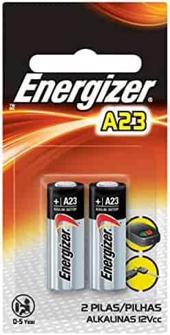 Energizer Zero Mercury Alkaline Batteries A23 2 ea (Packaging may vary)