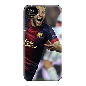 Iphone 4/4s Case Cover The Best Player Of Barcelona Jordi Alba Case - Eco-friendly Packaging